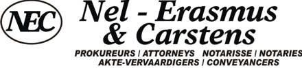 Nel – Erasmus & Carstens Attorneys Attorneys / Lawyers / law firms in Kempton Park (South Africa)