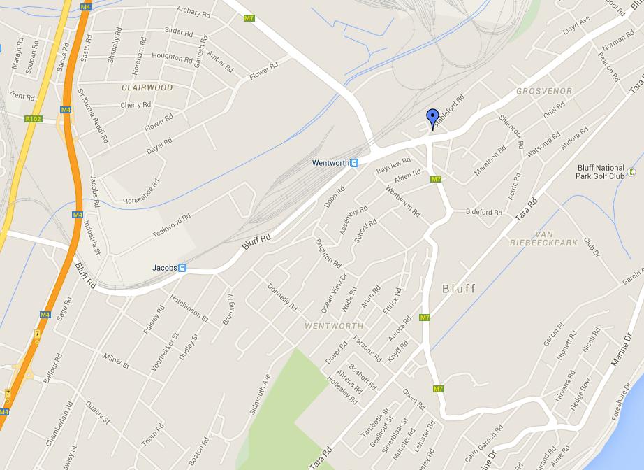 Durban Car Hire Locations