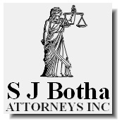 S J Botha Attorneys Inc. (Boksburg) Attorneys / Lawyers / law firms in Boksburg (South Africa)