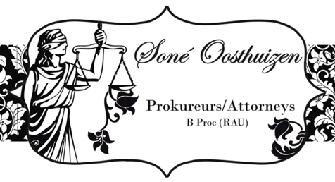 Soné Oosthuizen Attorneys (Carletonville) Attorneys / Lawyers / law firms in  (South Africa)