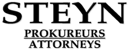 Steyn Attorneys / Prokureurs (Welkom) Attorneys / Lawyers / law firms in  (South Africa)