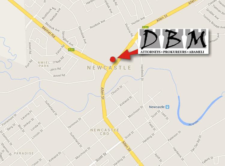 DBM Attorneys Newcastle Kwazulu Natal Durban attorneys