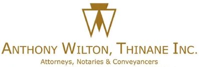 Anthony Wilton, Thinane Inc (Germiston) Attorneys / Lawyers / law firms in  (South Africa)