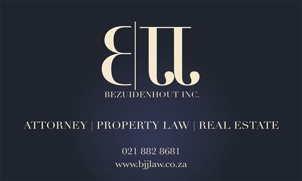 BJJ  Bezuidenhout Inc. (Stellenbosch) Attorneys / Lawyers / law firms in  (South Africa)