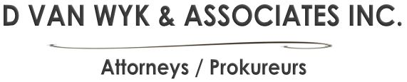 D Van Wyk & Associates Inc. (Middelburg) Attorneys / Lawyers / law firms in  (South Africa)
