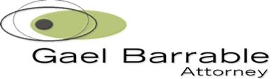 Gael Barrable (Bedfordview) Attorneys / Lawyers / law firms in  (South Africa)