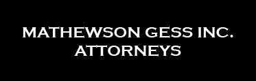 Mathewson Gess Attorneys (Cape Town) Attorneys / Lawyers / law firms in Cape Town (South Africa)