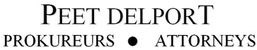 Peet Delport Attorneys (Val De Grace, Pretoria) Attorneys / Lawyers / law firms in  (South Africa)