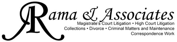 Rama & Associates (Witbank) Attorneys / Lawyers / law firms in Witbank / Emalahleni (South Africa)