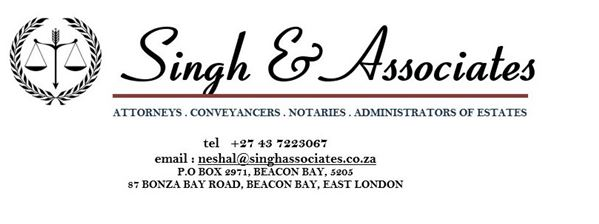 Singh & Associates (East London) Attorneys / Lawyers / law firms in East London (South Africa)